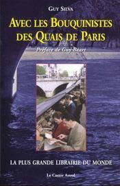 Avec les bouquinistes des quais de paris - Intérieur - Format classique