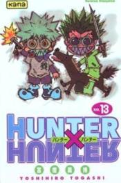Hunter X Hunter T13 - Couverture - Format classique