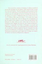Le Chateau, A La Croisee Des Voies, A La Croisee Des Temps. Colloque Tenu Au Chateau De Rambures, 1 - 4ème de couverture - Format classique