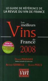 Le classement des meilleurs vins de france (édition 2008) - Intérieur - Format classique