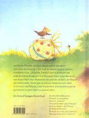 Joyeuses paques fenouil - 4ème de couverture - Format classique