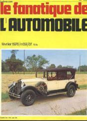 Le Fanatique De L'Automobile N°89 - Torpedo Fiat 1929, Type 520 - Couverture - Format classique