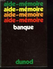 Aide-Memoire Banque - Couverture - Format classique
