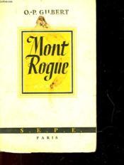 Mont Rouge - Couverture - Format classique