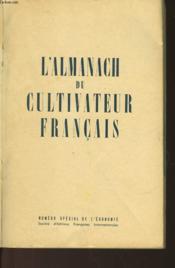 L'Almanach Du Cultivateur Francais - Couverture - Format classique