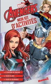Mon kit d'activités ; Avengers ; Black Widow, Thor, Captain Marvel - Couverture - Format classique