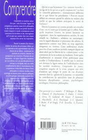 Revue Comprendre N.5 ; Les Jeunes (édition 2004) - 4ème de couverture - Format classique