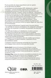 Agriculture de précision - 4ème de couverture - Format classique