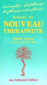 Manuel du nouveau therapeute - Intérieur - Format classique