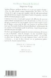 Augustus carp - 4ème de couverture - Format classique