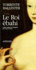 Le roi ebahi - Couverture - Format classique