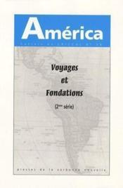 America N.36 ; Voyages Et Fondations T.2 - Couverture - Format classique