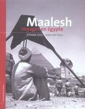 Maalesh ; voyage en Egypte - Intérieur - Format classique