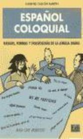 Espanol coloquial - Couverture - Format classique