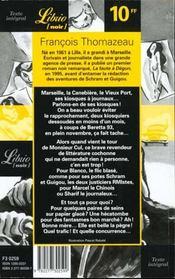 Les Aventures De Schram Et Guigou T.1 ; Qui A Tue Monsieur Cul - 4ème de couverture - Format classique
