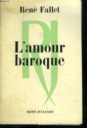 L Amour Baroque. - Couverture - Format classique