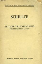 Lecamp De Wallenstein. (Wallensteins Lager) - Couverture - Format classique