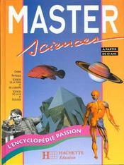 Master Sciences - Intérieur - Format classique
