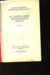 Le Capitalisme Monopoliste D'Etat - Tome 1 - Couverture - Format classique
