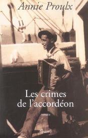 Les crimes de l'accordeon - Intérieur - Format classique