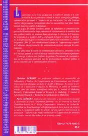 Persuasion ; La Theorie De L'Irrationalite Restreinte, Fondement De La Publicite - 4ème de couverture - Format classique
