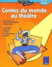 Contes du monde au théâtre - Couverture - Format classique