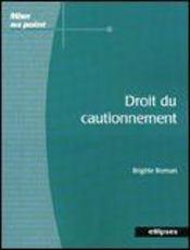 Droit Du Cautionnement - Intérieur - Format classique