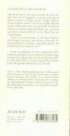 La porte bleue - 4ème de couverture - Format classique