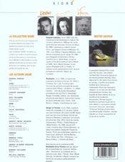 Signe - mister georges t1 - 4ème de couverture - Format classique