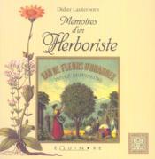 Memoires d'un herboriste - Couverture - Format classique