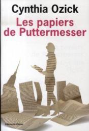 Les Papiers De Puttermesser - Couverture - Format classique