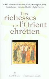 Les richesses de l'Orient chrétien - Intérieur - Format classique