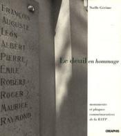 Deuil en hommage (le) - Couverture - Format classique