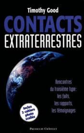 Contacts extraterrestres - Couverture - Format classique