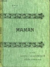 Maman. - Couverture - Format classique