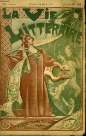 L'Assiete Cassee. La Vie Litteraire. - Couverture - Format classique