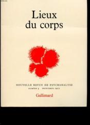 Nouvelle Revue De Psychanalyse: N 3 Lieux Du Corps - Couverture - Format classique