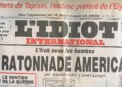 L'Idiot International N° 46 - L'Irak Sous Les Bombes, La Ratonnade Americaine - Couverture - Format classique