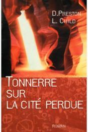 Tonnerre Sur La Cité Perdue - Couverture - Format classique