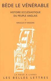 Histoire ecclesiastique du peuple anglais/t2 - Intérieur - Format classique
