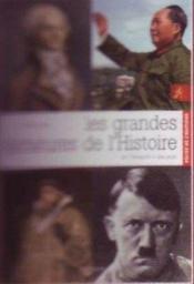 Les grandes dictatures de l'histoire - Couverture - Format classique