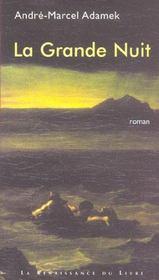 La Grande Nuit - Intérieur - Format classique