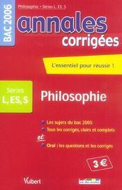 Annales Corrigees T.5 - Intérieur - Format classique