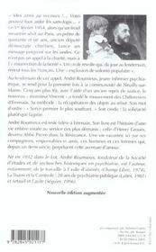 L'Abbé Pierre et les compagnons d'Emmaüs (édition 2004) - 4ème de couverture - Format classique