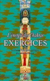 L'Energie Des Chakras -Exercices - Couverture - Format classique