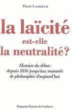 La laicite est-elle la neutralite ? - Couverture - Format classique