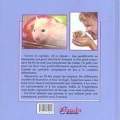 J'élève... mon hamster - 4ème de couverture - Format classique