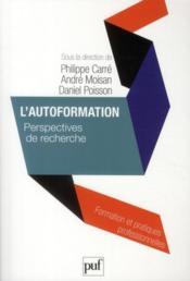 L'autoformation ; perspectives de recherche - Couverture - Format classique