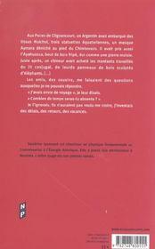 L'arbre rouge ; desir des marees - 4ème de couverture - Format classique