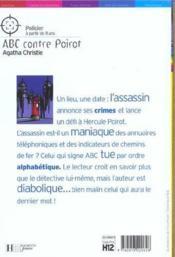 Abc contre Poirot, nouvelle édition - Couverture - Format classique